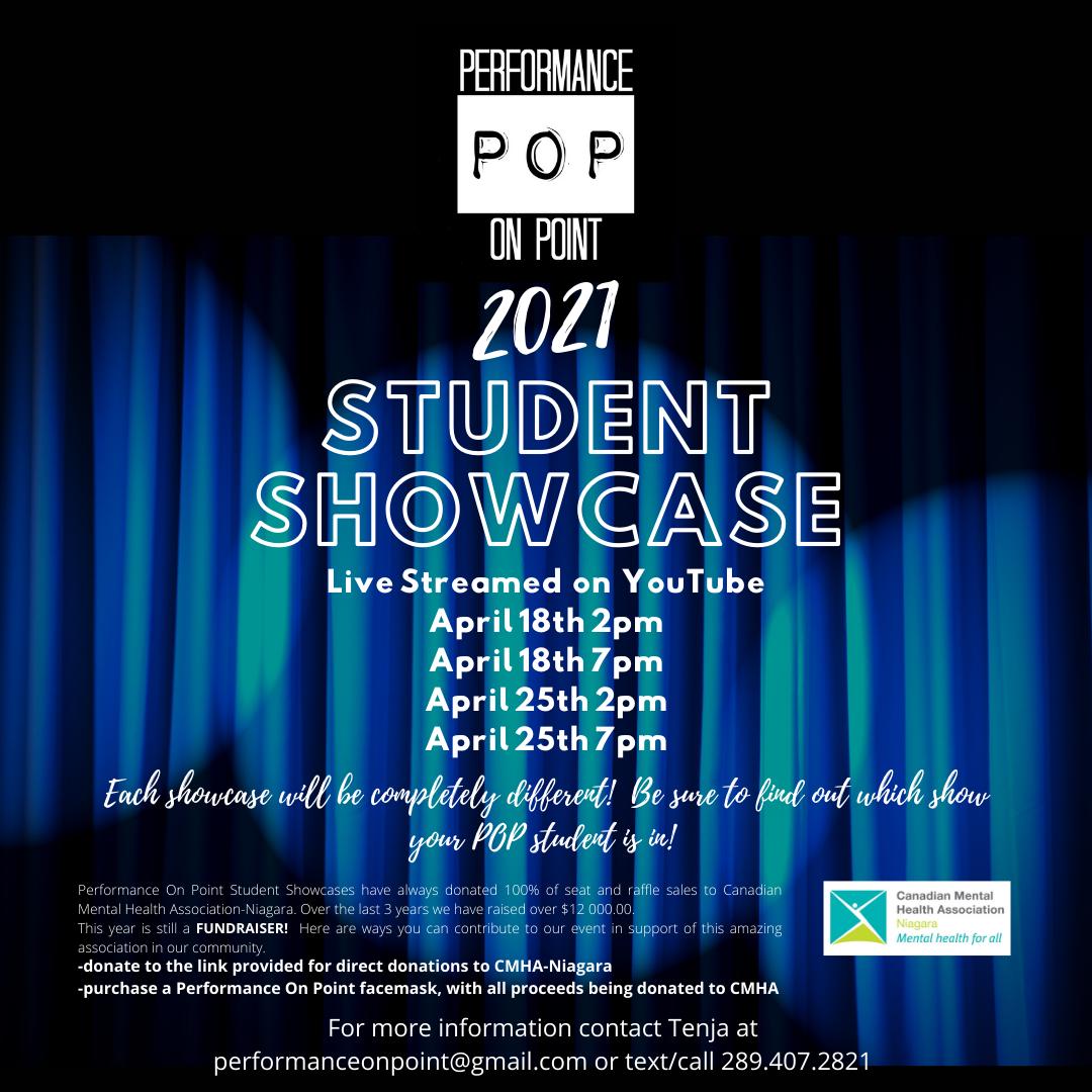 Student Showcase Flyer