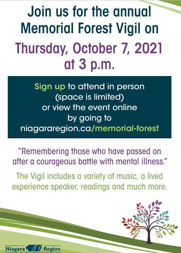 Vigil details