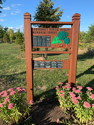 image of memorial forest