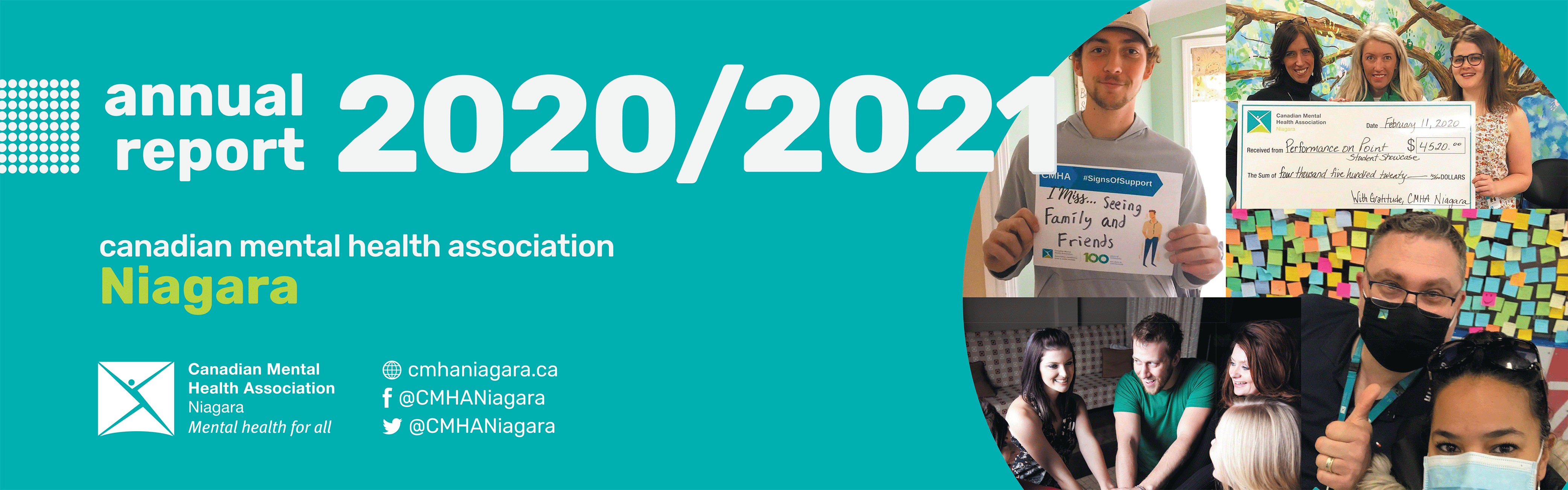 2020 2021 Annual Report banner graphic