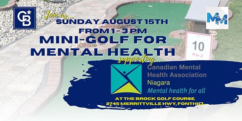 Mini Golf for Mental Health Event