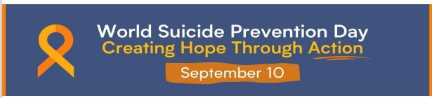 World Suicide Prevention Day Sept. 10