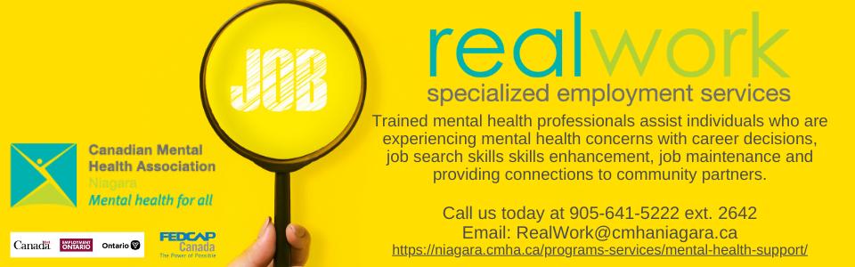 real work specialized employment program